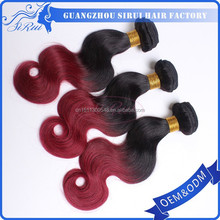 High quality mixed two colors body wave synthetic hair adorable weave hair, african american weave, afro 4c hair weave