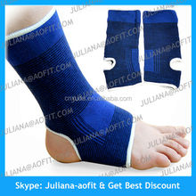 2x Ankle support protection elastic brace guard injury stabilizer Sports Kit