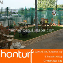 Naturely fake grass/landscaping/garden grass to decorate your leisure corner