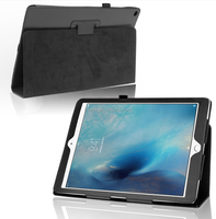 PU Leather Smart Flip Stand Case Cover for Apple iPad Pro With Film Screen Protector