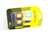 High Quality 4 in 1 Nano Sim Card Adapters / Standard Sim Card SIM Card & Tools For Iphone 4 / 4S/ 5 With Retail Box
