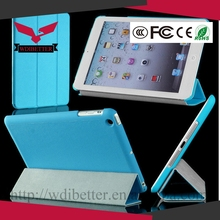 High Quality Original Leather Smart Cover for Ipad Air Smart Case With Logo