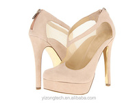 JUSITY 2015 Fashion lady high heel prom shoes with platform and women high heel pumps for party
