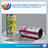 Laminating fruit jelly Packaging Film Roll made in china