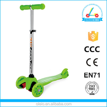 Precision bearing wholesale three wheel micro scooter made in china