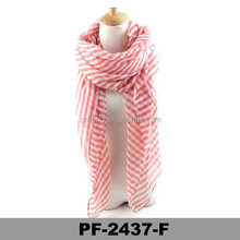 Lady fashion lovely soft viscose pink scarves and shawl