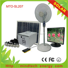 portable camping solar panel system