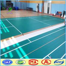 MingBang badminton court mat / pvc sports floor / pvc plastic floor