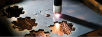 Significantly reduced lead times plasma cutting machine