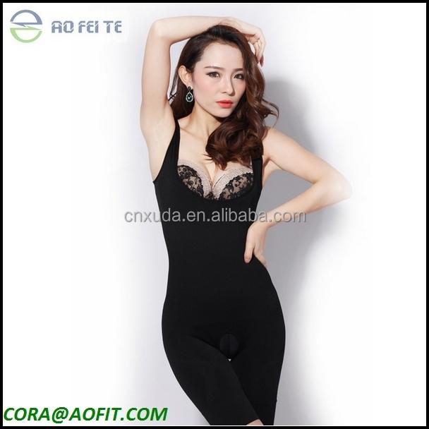 Women Floral Bodysuits Shapewear Underwear, Plus size Body ...