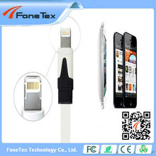 For apple iphone 5 data cable with CE/ROHS/FCC approval