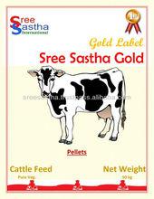 piensos compuestos para las vacas lecheras y alimentoparaganado