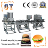 Automatic Electric Beef Chicken Fish Meat Burger Production Line