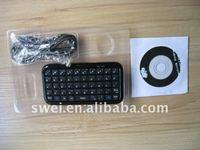 Ultra Slim Wireless Keyboard for ipad iphone4G /smart phone/ PC