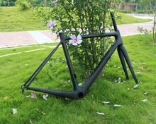 Super light carbon road bicycle frame toray carbon t1000 bike frames direct