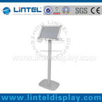 high quality aluminum sign holder stand with A4 snap frame LT-13B2