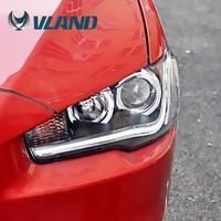 CCC CE E-Mark Car Styling Auto Modified Led Headlamp For Mitsubishi Lancer Ex 2010up