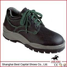 2015 New Black Embossed leather Safety Shoes/footwear for Men