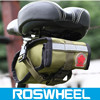 ROSWHEEL personality canvas bicycle saddle bag/Expeditionary series waterproof tail bicycle bag 13894