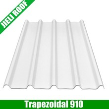 Trapezoidal pvc corrugated roofing sheets