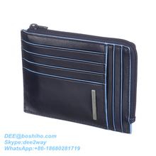 Boshiho Luxury Genuine Cowhide Travel Mens Leather Wallet