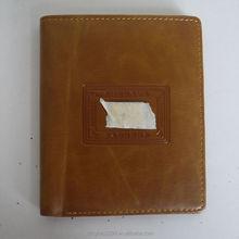 2015 Vintage Men Wallets Genuine Leather Purse Short Casual Male Card Holder Brand Wallet