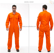 High Quality Multi- functional Flame Resistant Coverall Working Uinform Provatex work wear / oil worker garment