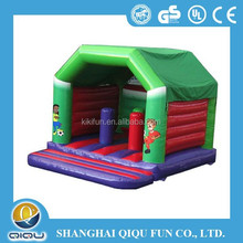 2015 amusement water park kids games toys inflatable bounce bed,kids inflatable bounce bed