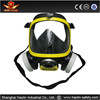 2015 High quality anti gas, PC lens , double filter full face gas mask /construction face shield