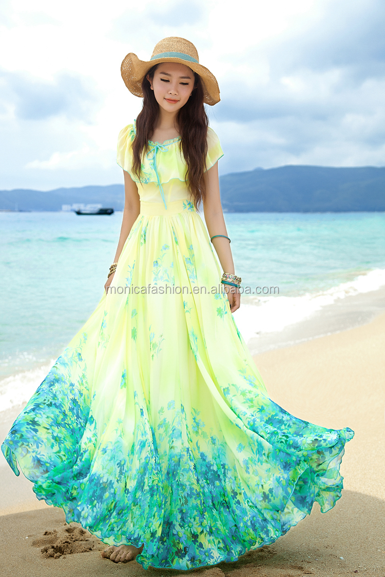 Hawaiian Clothing Designers For Women Silk Chiffon Dress Patterns
