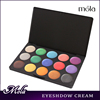 15 color high quality brown eye eyeshadow,yellow eye shadow