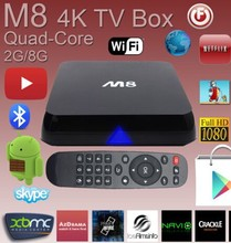 2014 amlogic s802 Smart tv box M9 skype,XMBC,MIRACAST,DLNA/ remote control Manufacturer for media player hd