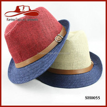 2015 New Fashion High Quality Unisex Adults Paper Panama Hat Wholesale