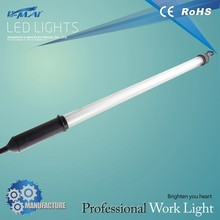 Fluorescent high-end Work Light with rubber guide