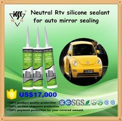 Acetoxy structual auto glass silicone sealant for auto mirror sealing