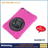 shockproof pc silicone combo case for ipad mini