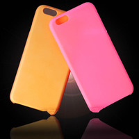 PC Plastic Cases for iPhone 6 Plus,Cell phone Crystal Clear Hard Back Cases Cover