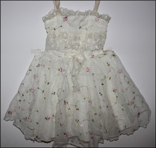 Used Clothes Wholesale Used Girl's Party Dress Used baby girl's dress in bales