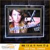 A2 Acrylic Photo Frame LED Crystal Light Frame Light Box LED Clear Acrylic Light Photo Frame