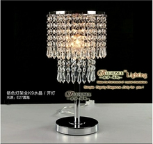 Cheapest crystal table lamp made in china MD8445
