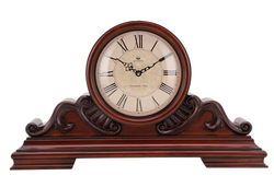Competitive price wooden table clock