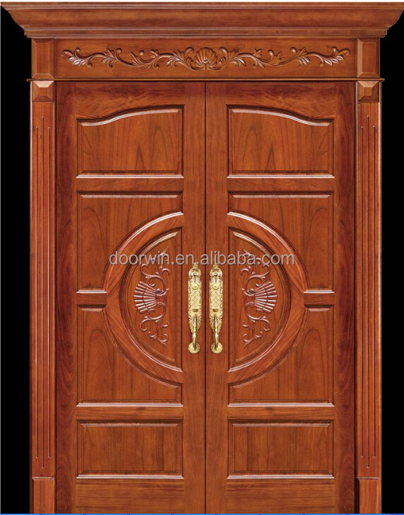 Teak wood double entrance door designs joy studio design for Entrance teak door designs