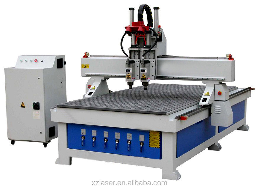 High Precision Cnc Router Hsd Spindle Servo Motor Mdf Wood Acrylic Cnc Router Machine 4 Axis Cnc