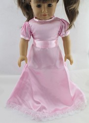 pink dress for American Girl ,Doll clothes