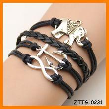 2014 Elefante Pulsera Infinito ZTTG-0231