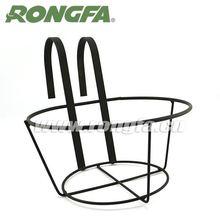 powder coated metal wire black garden flower shelf rack