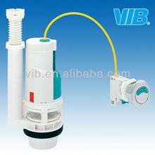 Plumbing upc double push toilet mechanism
