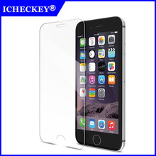 iCheckey 0.33mm 2.5D HD Scratch-proof & Shatter-proof Transparent Tempered Glass Screen Protector For iPhone6 4.7inch