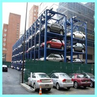 3 4 5 Floors Quad Home Car Garage Stacker Parking Equipment
