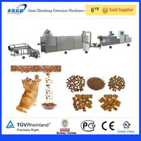 800kg/h china dry dog food machine,dog food equipment,pet treats pellet plant